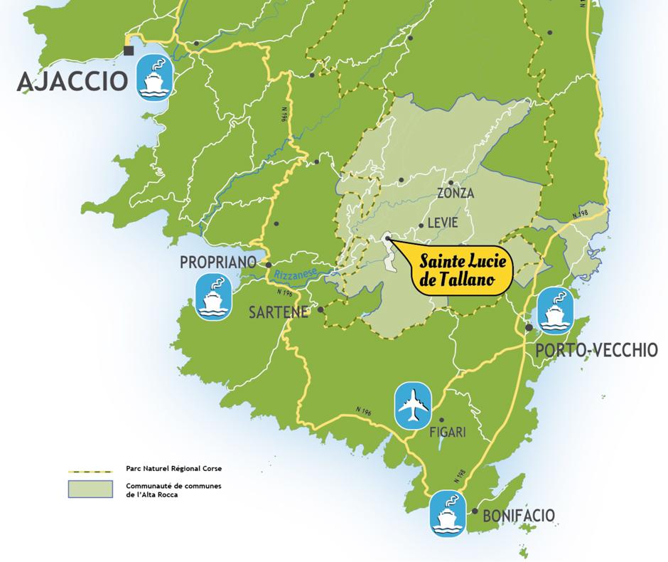 Tallano d couvrir la commune - Office tourisme sainte lucie de porto vecchio ...